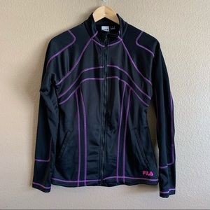 FILA Performance Sport Full Zip Jacket Size M